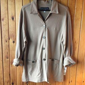 Vintage Harris Wallace wool jacket camel color